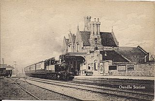 Oundle railway station Former railway station in Northamptonshire, England f