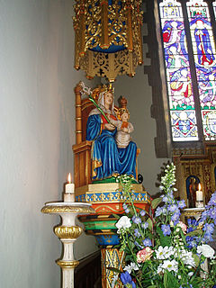 Title given to apparitions of The Virgin Mary in Walsingham, England