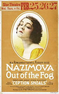 <i>Out of the Fog</i> (1919 film) 1919 film by Albert Capellani