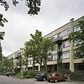 Overzicht flat in straatbeeld - Rotterdam - 20388437 - RCE.jpg