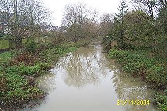 Bulstake Stream - Bulstake Stream at New Botley.