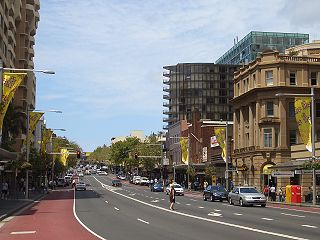 Oxford Street, Sydney road in Sydney