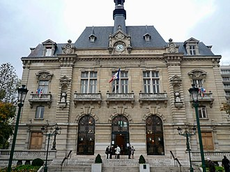 Colombes - The town hall of Colombes