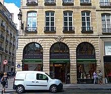 d307e4866775 サントノレ本店( パリ1区サントノレ通り 404、位置)