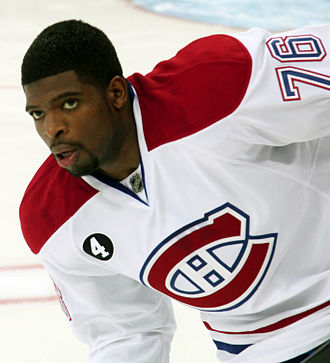 P. K. Subban - Subban during his tenure with the Montreal Canadiens in 2015.
