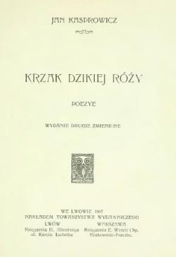 Krzak Dzikiej Różycałość Wikiźródła Wolna Biblioteka