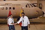 PRESIDENTE DE ECUADOR RAFAEL CORREA AGRADECE ENORME GESTO DE SOLIDARIDAD DE GOBIERNO Y PUEBLO PERUANO (26082876264).jpg