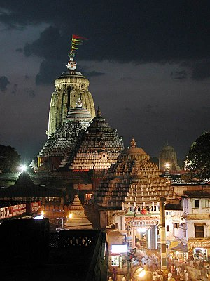 Jagannath Temple, Puri - The Jagannath Temple at Puri