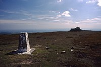 Paddy's Pole from the trig point on Fair Snape Fell - geograph.org.uk - 991457.jpg