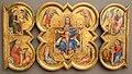 Paesi bassi, trittico con trinità ed evangelisti, 1390 ca.JPG