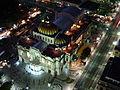 Palacio de Bellas Artes Iluminado visto desde la Torre Latinoamericana-.JPG