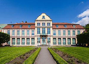 Oliwa - Opatów Palace in Oliwa