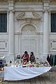 Palazzo Loredan gia Mocenigo Campo Santo Stefano Mercatino.JPG