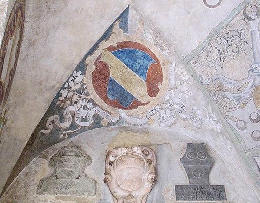 Palazzo vicariale di Certaldo, stemma Cerretani