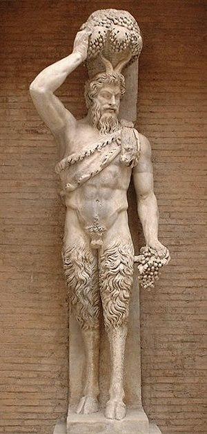 "Andrea della Valle - Supporting figure (telamon) of Pan, called a ""Della Valle Satyr"""