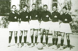 Panathinaikos A.O. - Basketball team of 1940