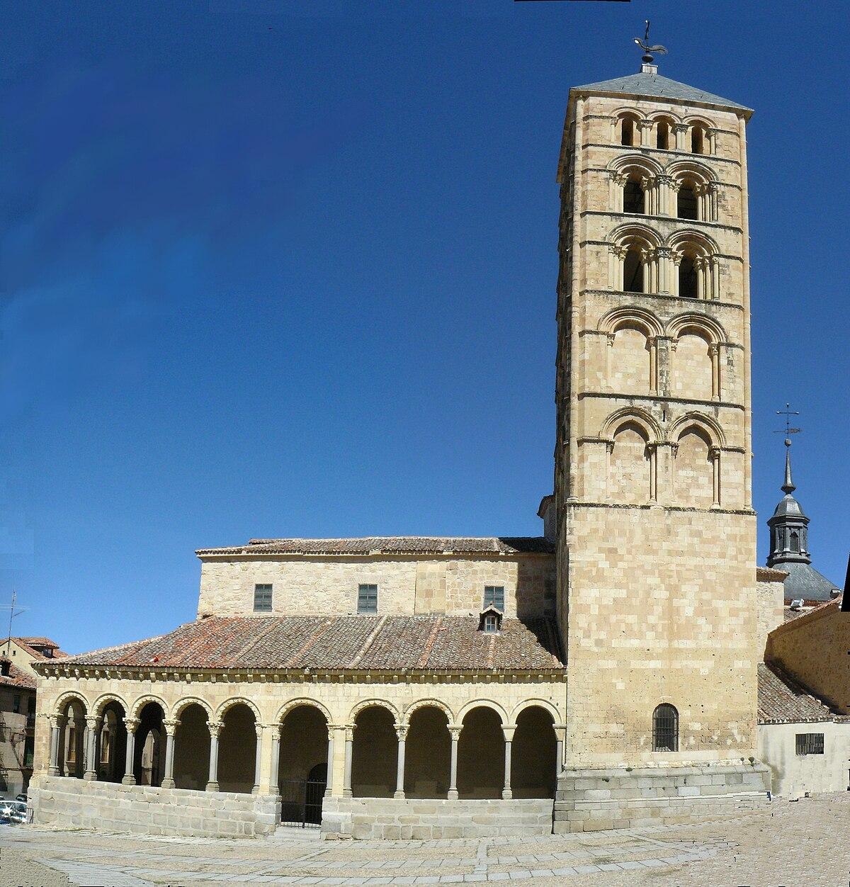 Iglesia de San Esteban (Segovia) - Wikipedia, la ...