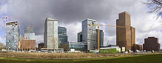 Amsterdam-Zuid - Zuidas business district.