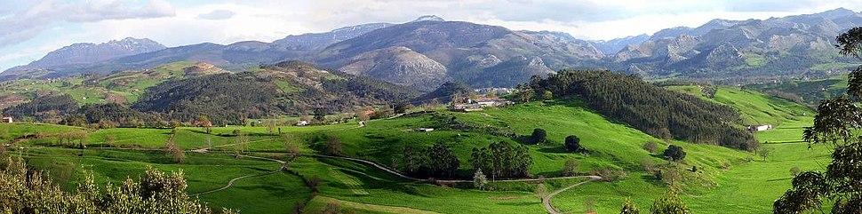 Panoramica Santa Marina Cantabria