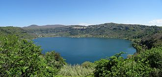 Lake Nemi - Panoramic view