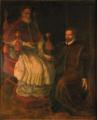 Papa Pio V Ghislieri con il conte Teodosio Fiorenzi.png