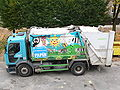 Paper recycling car in Olomouc.jpg