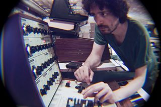 Marco Papiro experimental musician, electronic music producer sound artist and graphic designer