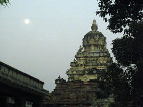 Parameshwara Vinnagaram on a full moon day