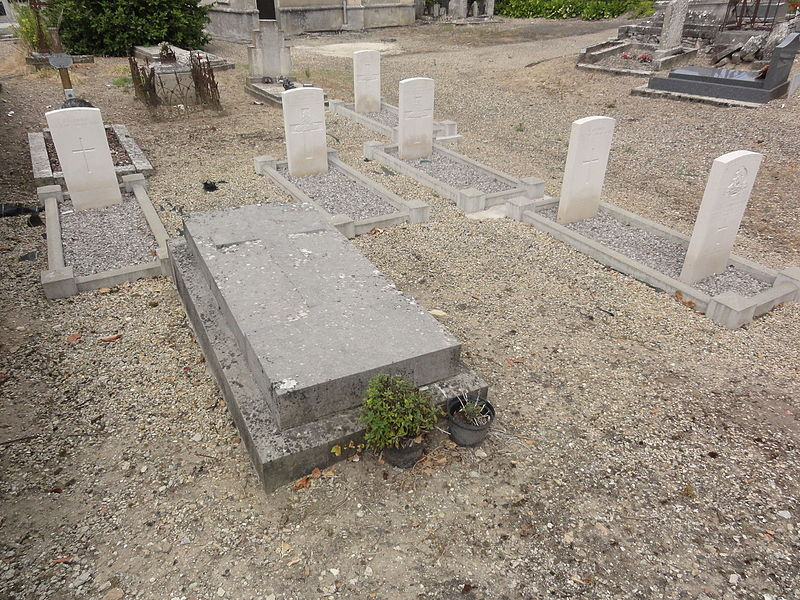 Pargnan (Aisne) tombes de guerre de la CWCG