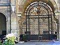 Paris, France. Hotel Carnavalet. (PA00086125)(The gate of the garden).jpg