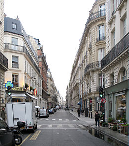 Image illustrative de l'article Rue de Bourgogne
