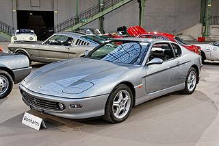 Ferrari 456 Four seat grand tourer manufactured by Ferrari