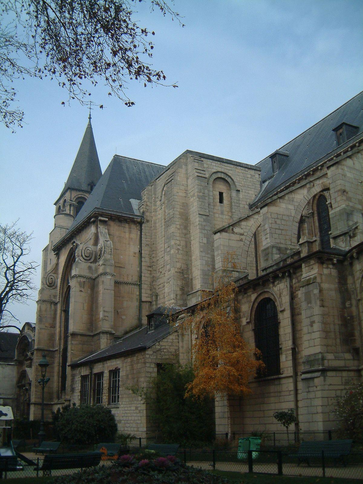 Abtei Saint Germain Des Pr U00e9s U2013 Wikipedia