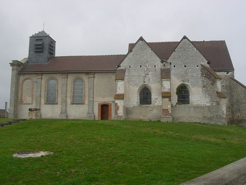 Eglise de Pars-lès-Romilly construite sur un ancien tumulus