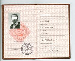 An SED Membership Card.