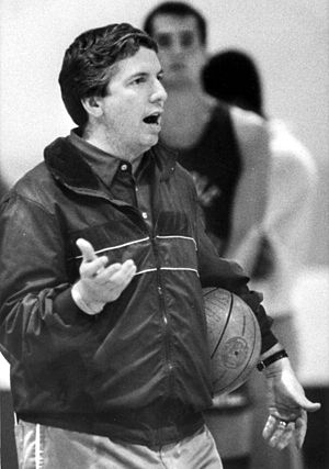 Pat Kennedy - Kennedy coaches Florida State in 1986.