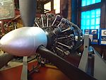 Paterson Museum (NJ) images (45) number 38 Early propeller aircraft engine.jpg