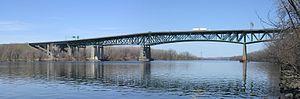 Patroon Island Bridge - Image: Patroon Island Bridge 1