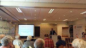 Paul Cliteur - Cliteur lecturing on religious violence (2015).