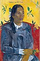 Paul Gauguin - Tahitian Woman with a Flower - Google Art Project.jpg