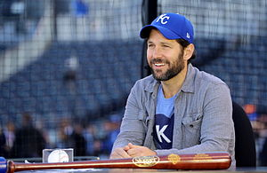 Paul Rudd - Rudd on the MLB Network in 2015