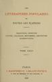 Paul Sébillot (1898) Les littératures populaires de toutes les nations.png
