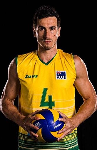 Paul Sanderson (volleyball) - Sanderson in 2014