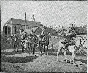 1st Spahi Regiment - The 1st Moroccan Spahi Regiment, 1e RSM in 1915.
