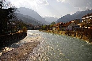 Peć Bistrica - The Peć Bistrica in Peć
