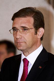 Pedro Passos Coelho Former Prime Minister of Portugal