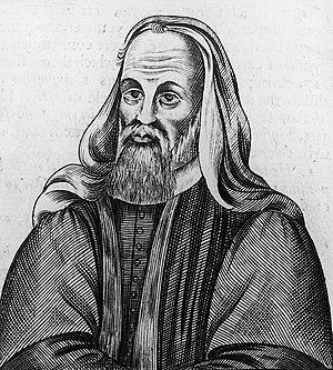 A17th century Calvinist print depicting Pelagi...