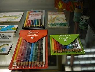 Derwent Pencil Museum - Image: Pencil Crayons (8009715426)