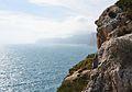 Penya-segats de la Marina, vista des del castell des del castell de la Granadella.JPG