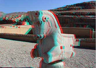Anaglyph 3D - Image: Persepolis (By Abdolazim Hasseli)